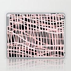 Net Blush on Black Laptop & iPad Skin