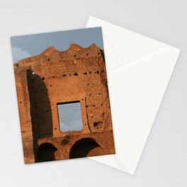 Windows and Clouds Palatine Ruins Rome Stationery Cards