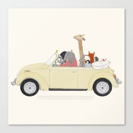 road trip huit Canvas Print
