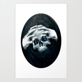 Your Moment Of Doom Art Print