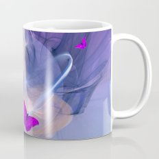 Birth of butterfly wishes Mug