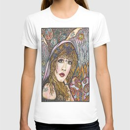 BLAME IT ON MY WILD HEART, STEVIE NICKS T-shirt