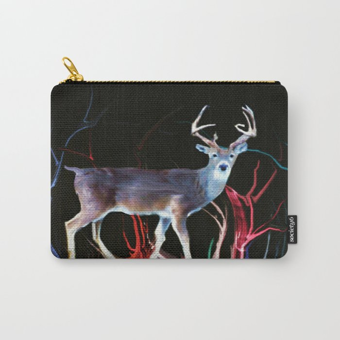 Deer in the woods Carry-All Pouch