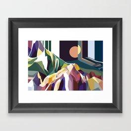 At Mont-Rebei Framed Art Print