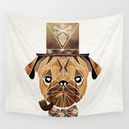 mister pug Wall Tapestry