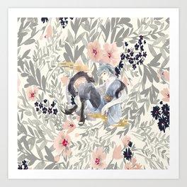 teen mitsuki Art Print