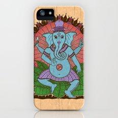 peace ganesh Slim Case iPhone (5, 5s)