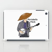 david fleck iPad Cases featuring PortoBella Fleck  by Pattavina