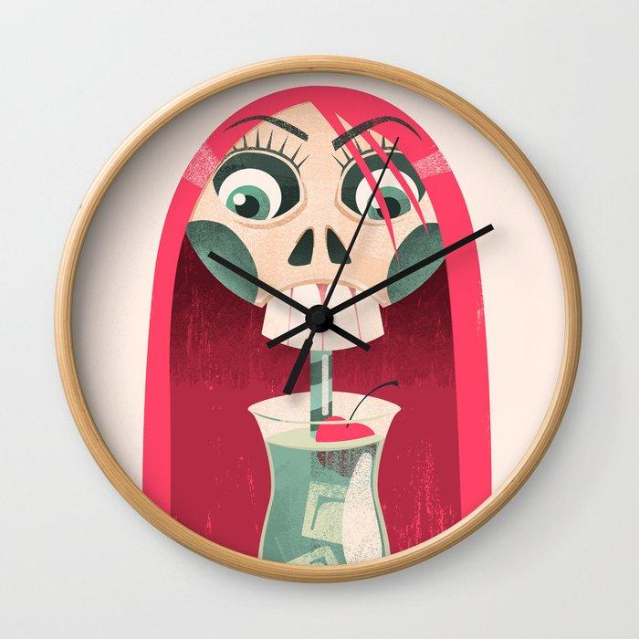 The Deadliest Sip Wall Clock