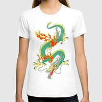 chinese T-shirts featuring Chinese Dragon by J&C Creations