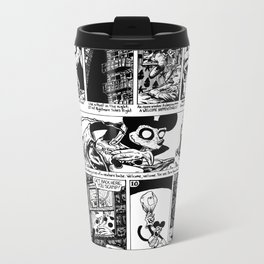 Nightmare The Rat - A Fine Extraction Metal Travel Mug