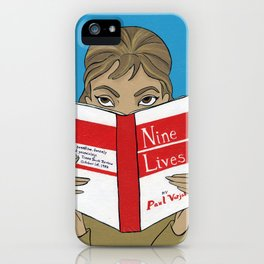 Audrey Hepburn in Breakfast at Tiffany's iPhone Case