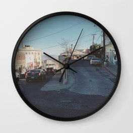 Split Level Wall Clock