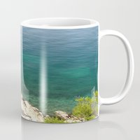 lighthouse Mugs featuring Lighthouse by Bitifoto