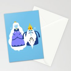 Ice Couple Stationery Cards