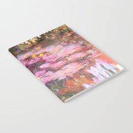 Water Lilies monet 1917 enhanced Notebook