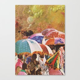 UNTITLED / DOPAMINE Canvas Print