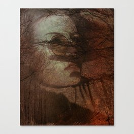Autumn portrait Canvas Print