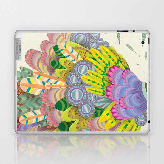 Cloud Peacock Laptop & iPad Skin