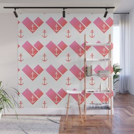 Florida Scarf Anchor Pattern Wall Mural