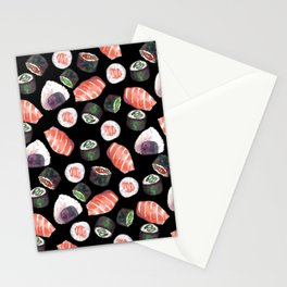 japanese food squad Stationery Cards
