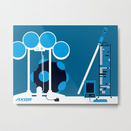 AXOR Systems - Room #2 Metal Print