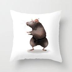 Master Splinter Throw Pillow