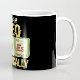Play Video Games Periodically - All Day Science Illustration Coffee Mug