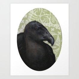 Mister Vulture Art Print