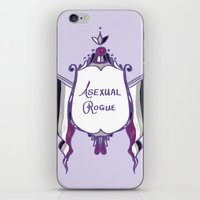 asexual iPhone & iPod Skins featuring Asexual Rogue by armouredescort