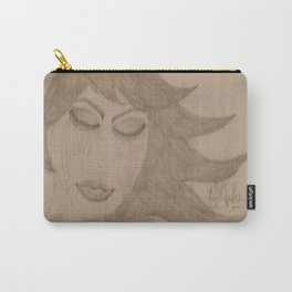 Angels Cry Blood On Flowers Of Evil In Bloom. Carry-All Pouch
