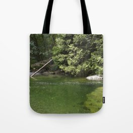 Waterhole in the Forest Tote Bag