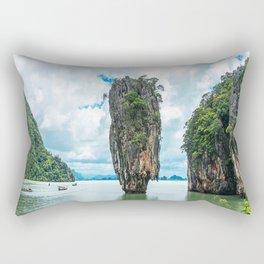 Tropical Island Rectangular Pillow