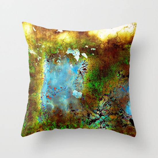 Film Soaked in Beer Throw Pillow