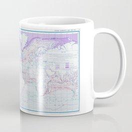 Map of Ocean Currents Coffee Mug