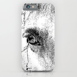 Eye of Horse iPhone Case
