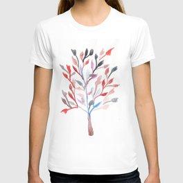 Watercolour Tree 6 |Modern Watercolor Art | Abstract Watercolors T-shirt
