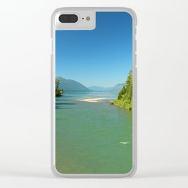 Green Waters Of McDonald River And Lake Clear iPhone Case
