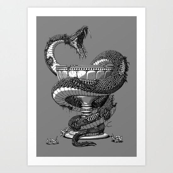 Undead Pharmacy Art Print