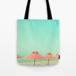 Cover Under Pink Tote Bag