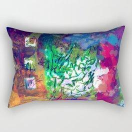 Conflict of Mood Rectangular Pillow
