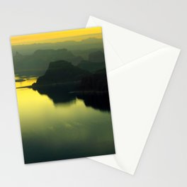 Lake Powell sunset Stationery Cards