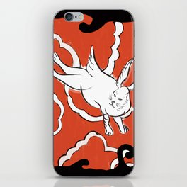 Bowie - Japanese Bunny iPhone Skin
