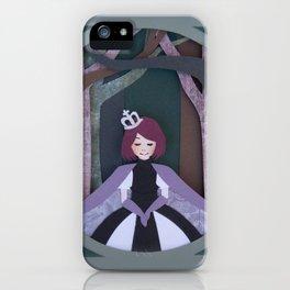 Paper Cut Princess iPhone Case