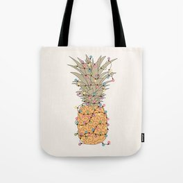 Tropical Lights Tote Bag