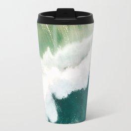 Wild Green Sea Travel Mug