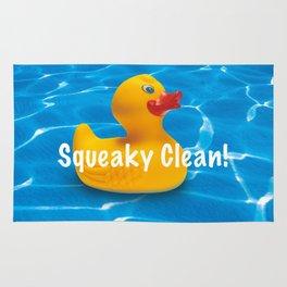 Squeaky Clean! Rug