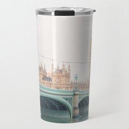 Thames Sunrise - London England Travel Photography Travel Mug