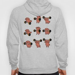 Olympic Lifting  Poodle Hoody