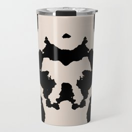 Rorschach inkblot Travel Mug